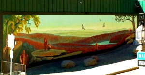 First People mural
