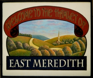 East Meredith Sign